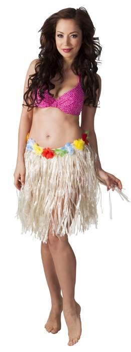 hawaii szoknya rövid(45 cm) (52400-B)