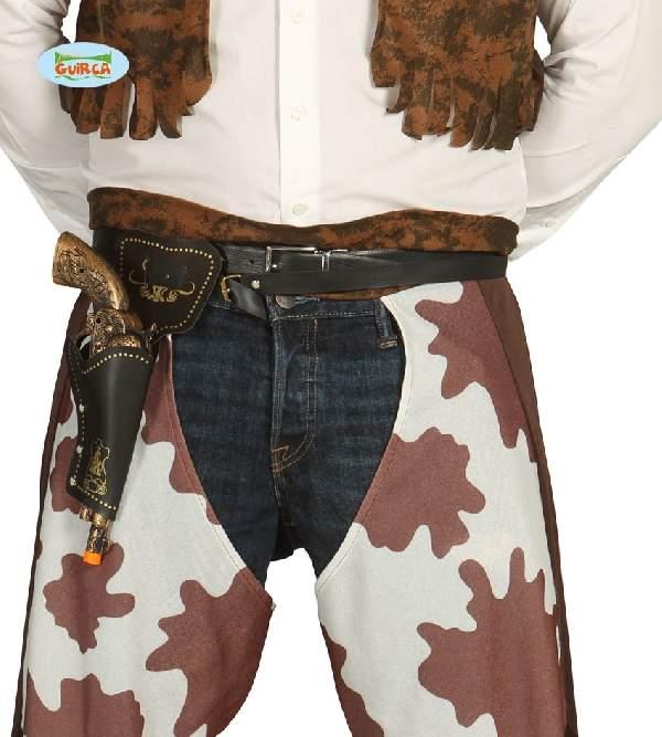 Pisztolytartó ővvel és pisztollyal-18448, cowboy szett