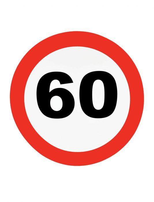közlekedési tábla 60. (48 cm )