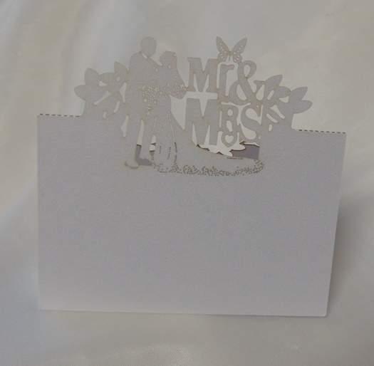 ültetőkártya Mr. és Mrs. - 606423