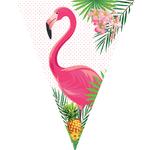 Flamingós zászlógirland (3,2 m)